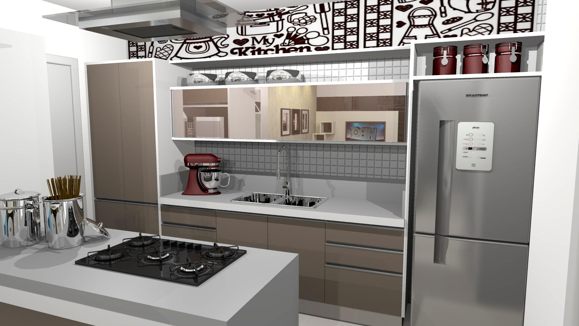 Projeto arquitetura design interiores apartamento 100m2 for Interiores de apartamentos