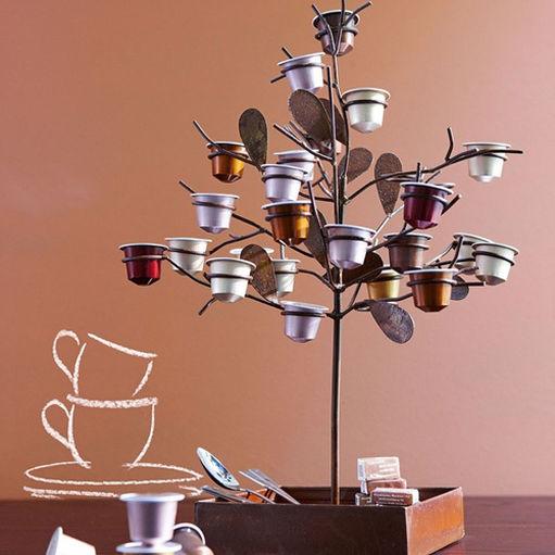 Utilizar Cápsulas de Café para Decoração de Interiores Sua Obra