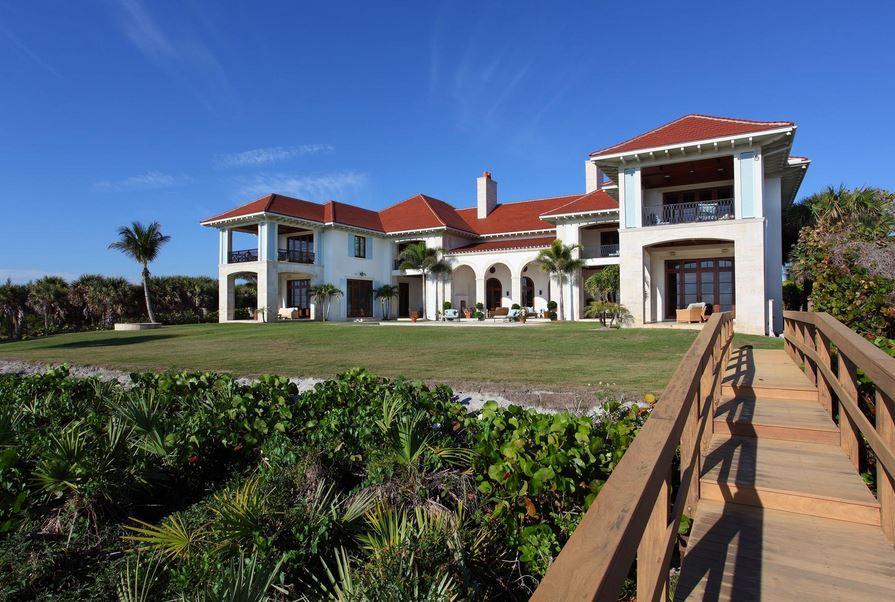 Casas beira mar miami florida ocean front arquiteto caio for Fachadas de casas en miami florida