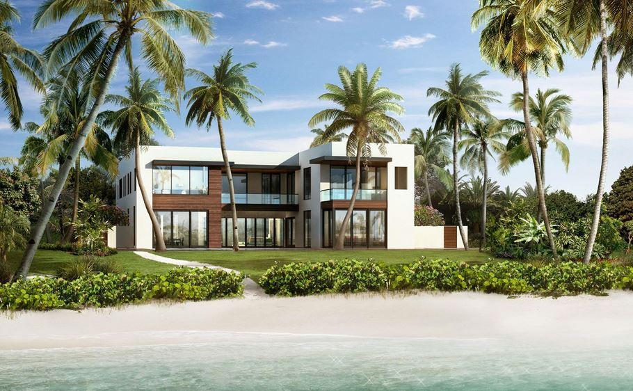 Casas expetaculares for Fachadas de casas en miami florida