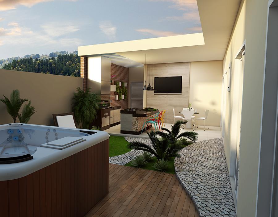 Solicite orçamento online grátis para Projeto Casa Térrea com 03 Suites em terreno 10x25 Condomínio em Sumaré orçamento decoracao
