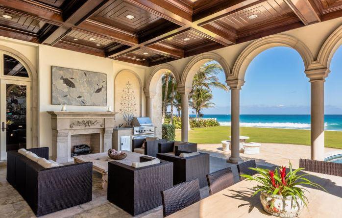 Casas espetaculares miami beira mar ocean front for Fachadas de casas en miami florida