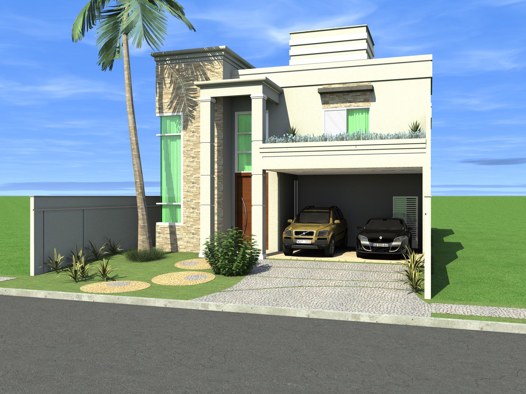 Projetos de casa com arquitetura cl ssica s o tendencia em for Casa classica moderna