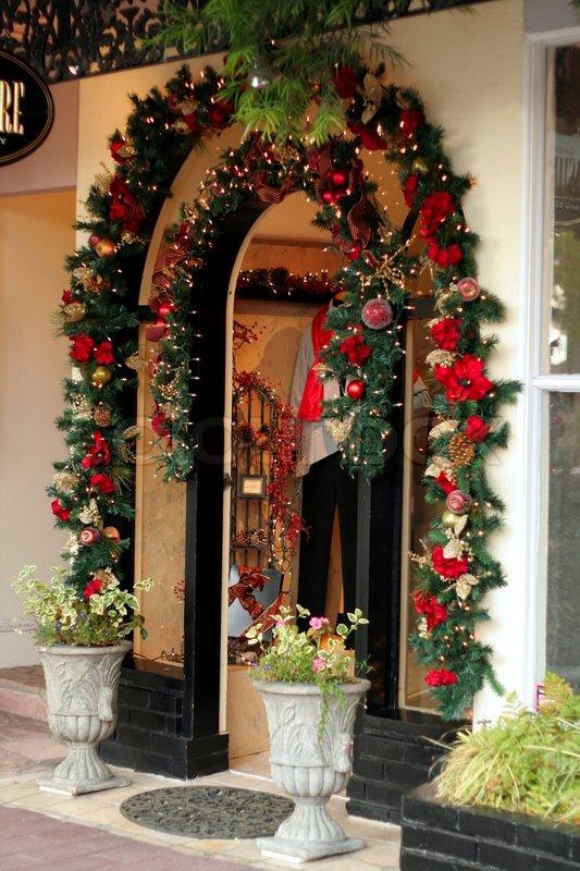 natal -> Decoração De Natal Vitrine Loja