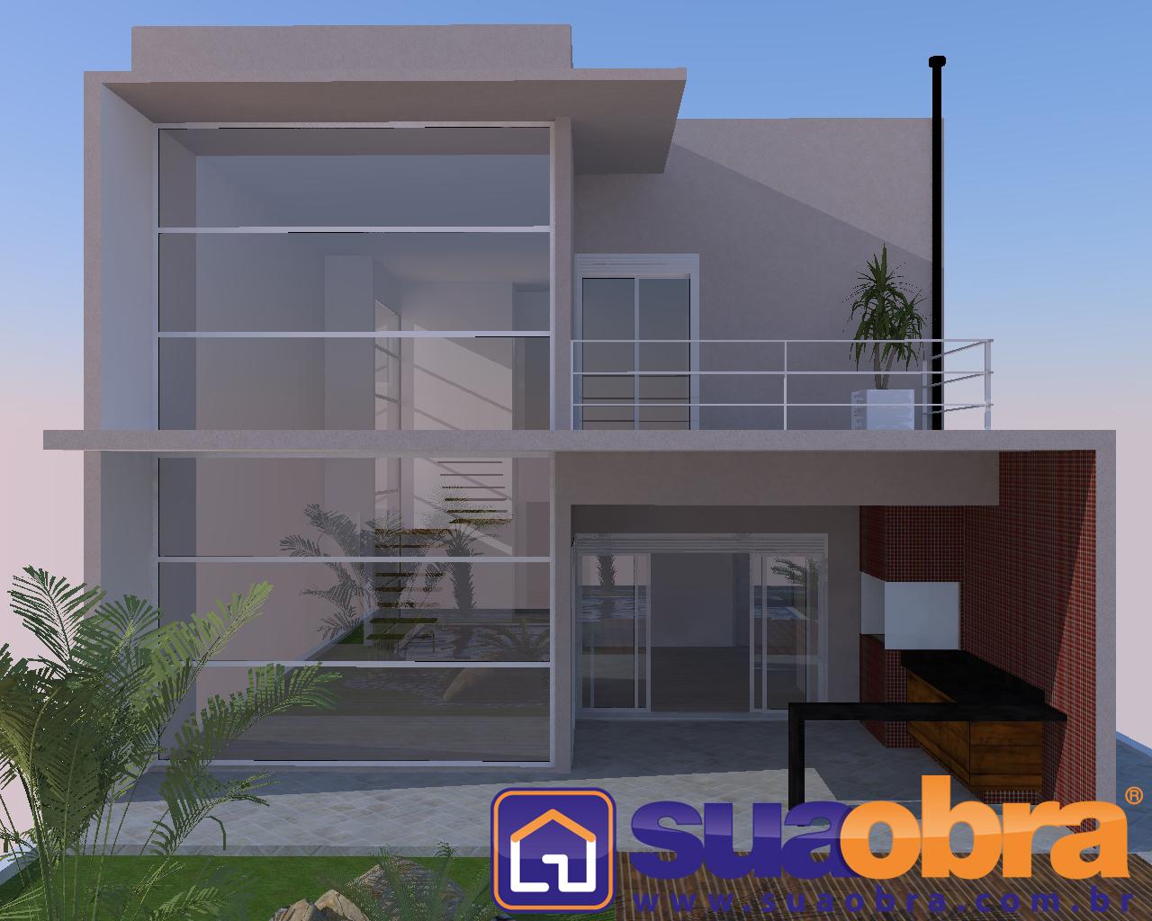 com 07 Projetos de Casas Térreas de Arquitetos e Engenheiros Famosos #BB6110 1280 1024