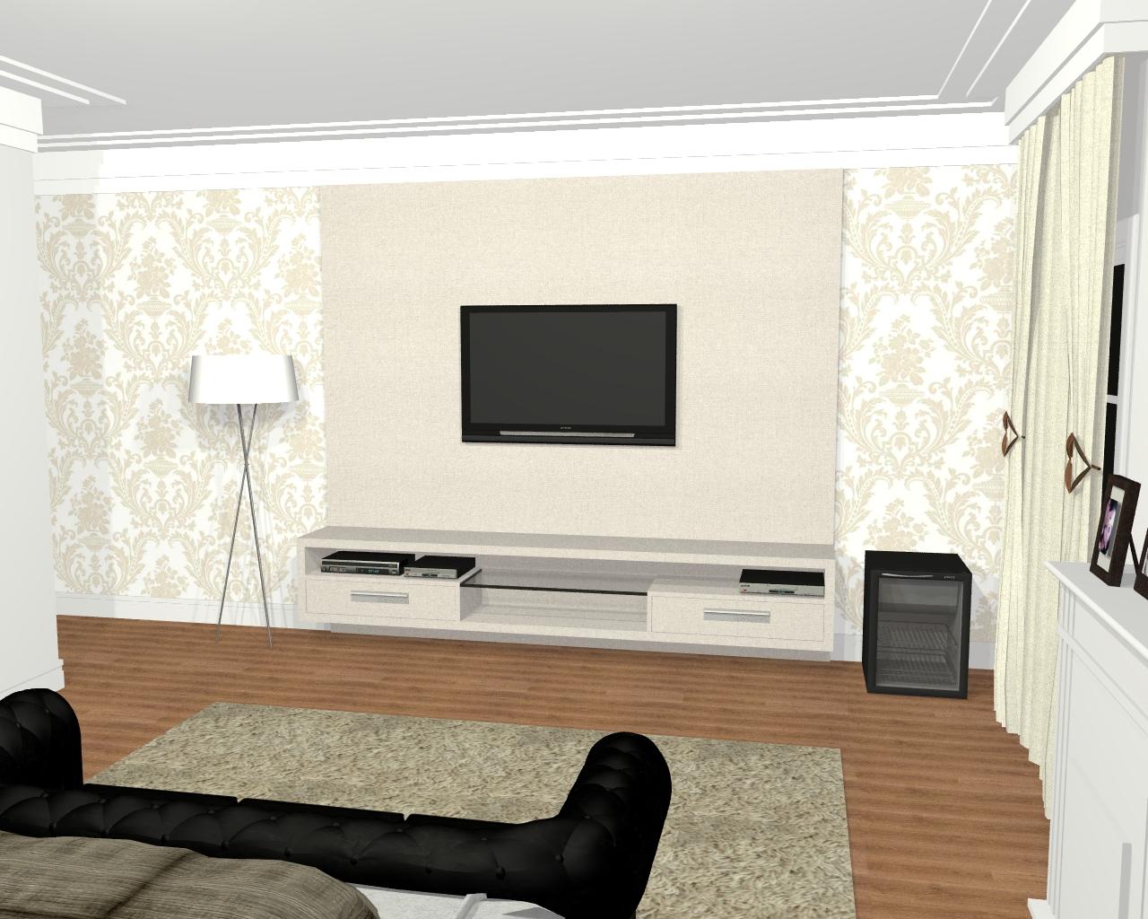 Fotos E Imagens De Projetos De Design De Interiores De Quarto E  ~ Decoração Quarto Casal Com Closet